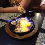 Flaming Appetizer