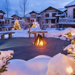 EagleRidge Firepit in Winter