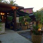 Le restaurant extérieur
