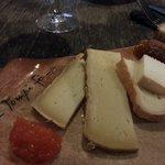 l'assiette de fromage (env. 10€)