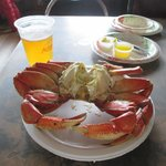 crab lunch!