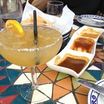 margaritas and salsa