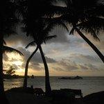 Sunset on Petite Anse Kerlan