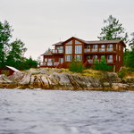 The view of the Inn from the water