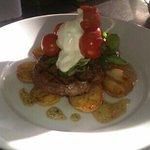 Ribeye steak...!