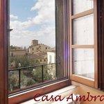 Vista dall'appartamento Piazza Passerini