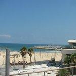 Location, right next to the marina