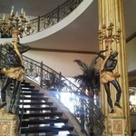 Victoria Palace hotel (stairs to 2nd floor)