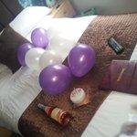 A birthday suprise