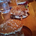Sliders with gluten free rolls