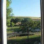 Bugarach room  view from bathroom