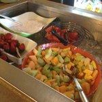 Fresh Fruit on the Breakfast Buffet