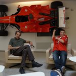 INSIDE FERRARI FACTORY OFFICE WITH CLIENTS KIDS