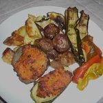 Vegetarian delights from the tavola calda, Il Tempo