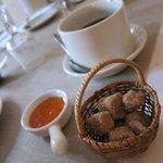 Breakfast - very cute setting