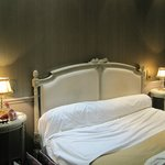 Bed in Hotel Saint-Jacques