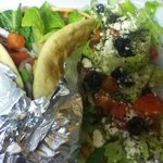 Lamb Gyro & Greek Salad