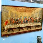 "Рanno ""The Last Supper"" made of cast iron by local craftsmen"