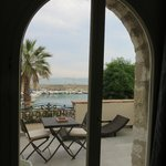View from Mare bedroom onto terrace