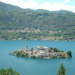 Isola di San Giulio from Sacro Monte