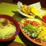 Chile Relleno, Taco, & Guacamole Salad