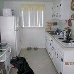 Kitchen had so much room!