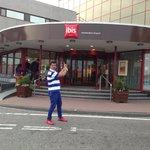 Talib at Ibis Amsterdam