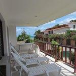 Casa Alba, front upper deck