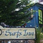 Surfs Inn Guesthouse sign