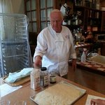 Italian specialty breads day with Mort Rabkin, July 2013. Mort explains foccacia & ciabatta.