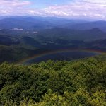 Incredible rainbow at Brasstown Bald