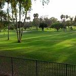 Campo de golfe!