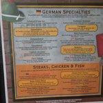 Auslander menu