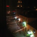 Night view from side patio