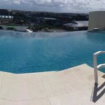 scenery from the rooftop pool