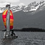 Ten mile range by sailboat