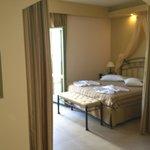 Bedroom in master suite