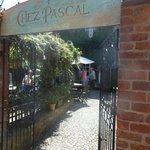 Entrance to Chez Pascal