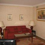 Le salon de la suite premium