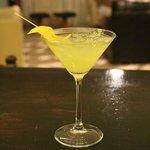 Martinis at the bar
