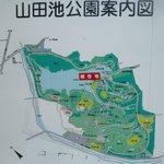 公園の地図、広い!