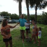 Summer Camp July 2013... Slack Lining