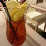 Ice lemon tea