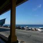 Ocean view from Hulls Kitchen
