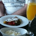 Breakfast Crepes & Bucks Fizz