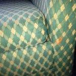 crud on sofa