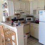 unit 128 kitchen area