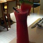 fresh watermelon juice - WOW