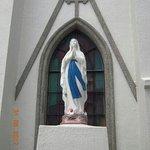 馬込教会のマリア像