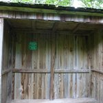 This shelter was a young man's Eagle Scout project.